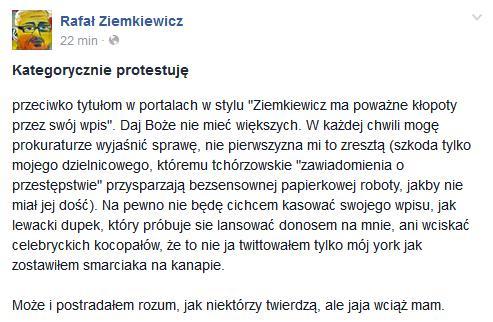odpowiedźZiemkiewicza