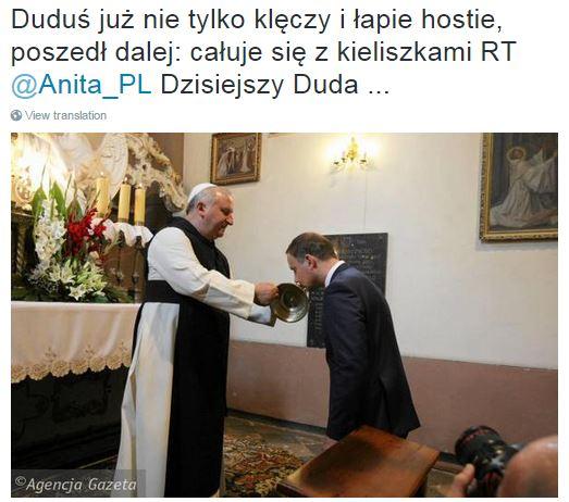 DuduśCałuje