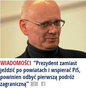 prezydentZamiast