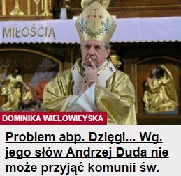 problemArcybiskupa