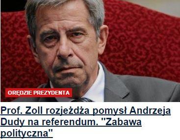profZollRozjeżdża