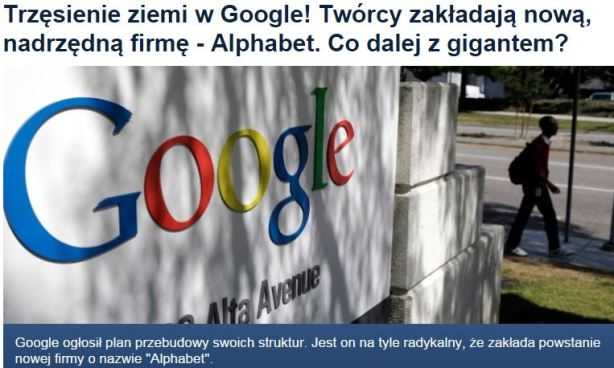 trzęsienieZiemiGoogle