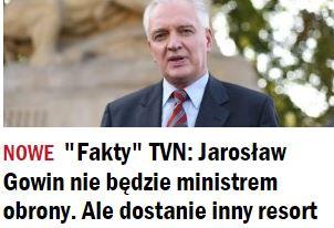 faktyTVNJarosławGowin