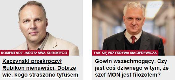 kaczyńskiPrzekroczył