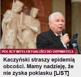kaczyńskiStraszyEpidemią