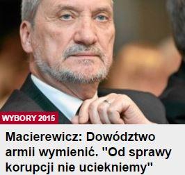 macierewiczDowództwo