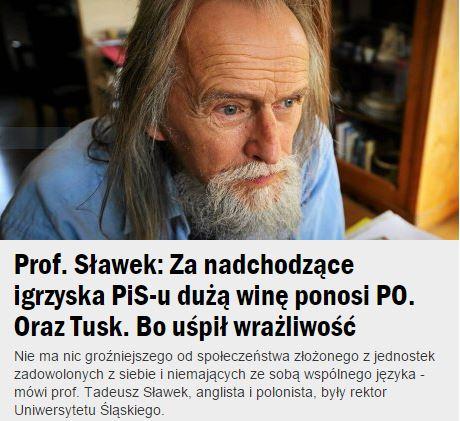 profSławek