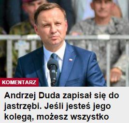 AndrzejDudaZapisałSię