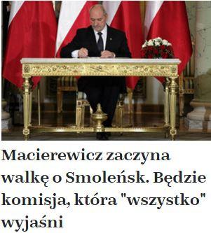 macierewiczZaczynaWalkęOsmoleńsk