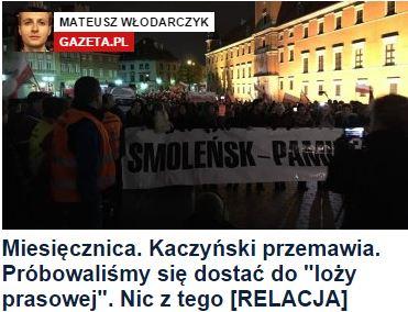 miesięcznicaKaczyńskiPrzemawia