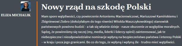 nowyRządNaSzkodęPolski