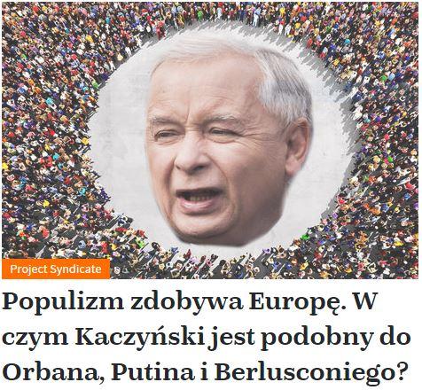 populizmZdobywa