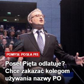 posełPięta
