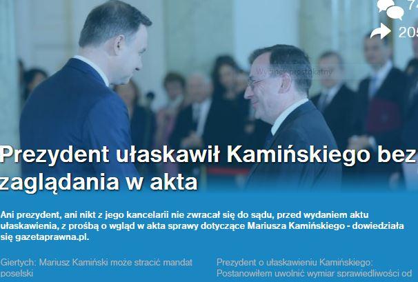 prezydentUłaskawiłKamińskiego