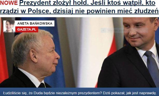 prezydentZłożyłHołd