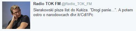 sierakowskiPiszeListdoKukiza