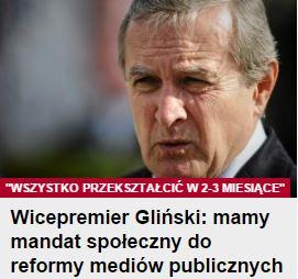 wicepremierGliński