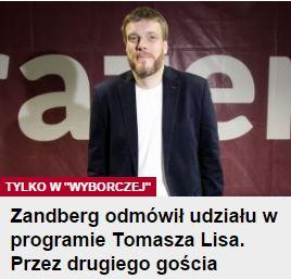 zandbergOdmówił