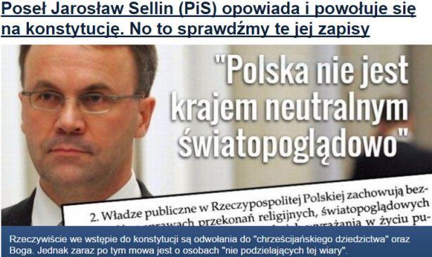 posełJarosławSellin