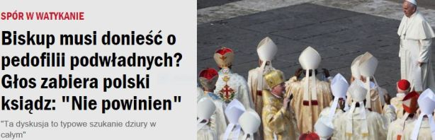 biskupMusiDonieść