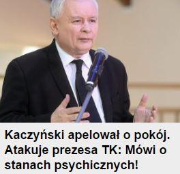 kaczyńskiApelował