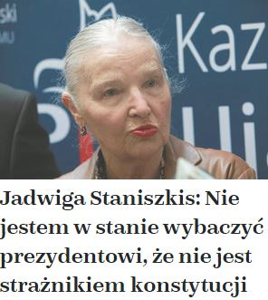 jadwigaStaniszkis