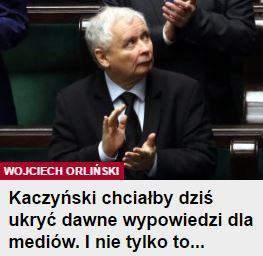 kaczyńskiChciałby