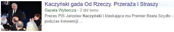 kaczyńskiGada