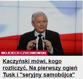 kaczyńskiMówi