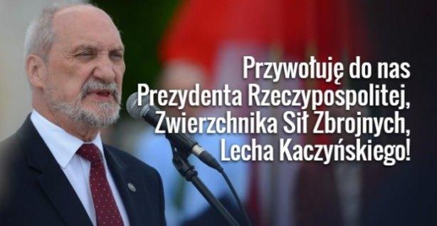 z20236455Q,Szef-MON-Antoni-Macierewicz
