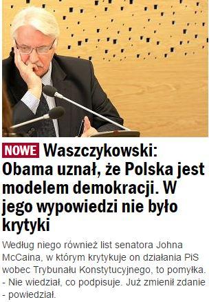 waszczykowski