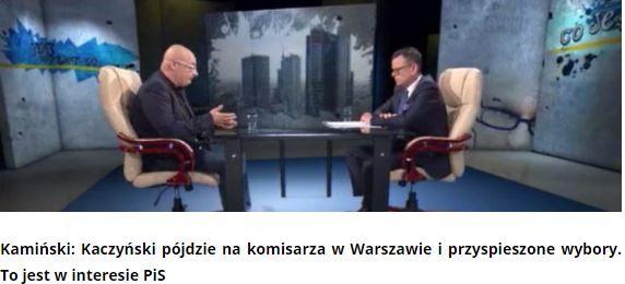 kamińskiKaczyński