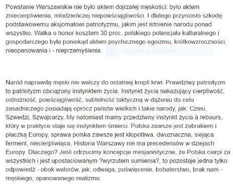 Kisiel Powstanie Warszawskie